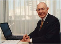 Gregory at his Gold Coast office
